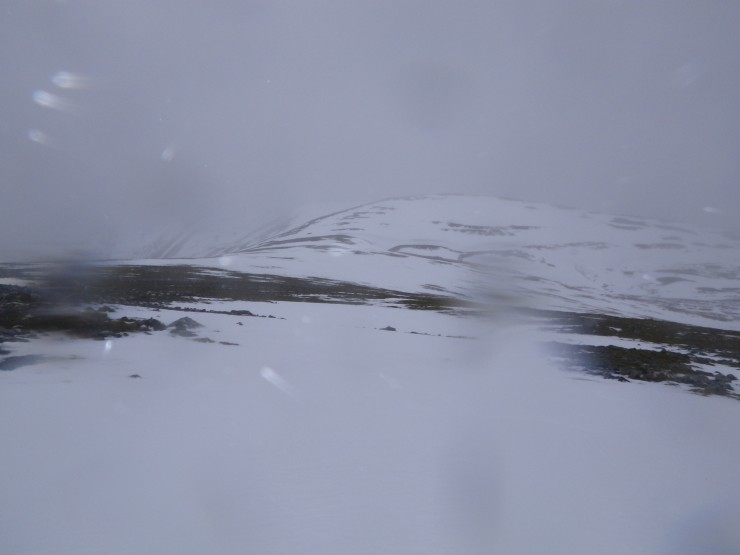 Extensive areas of snow remain at higher levels.