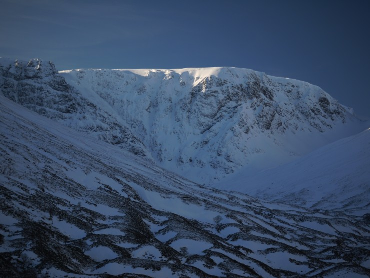 Post Face of Coire Ardair this afternoon.