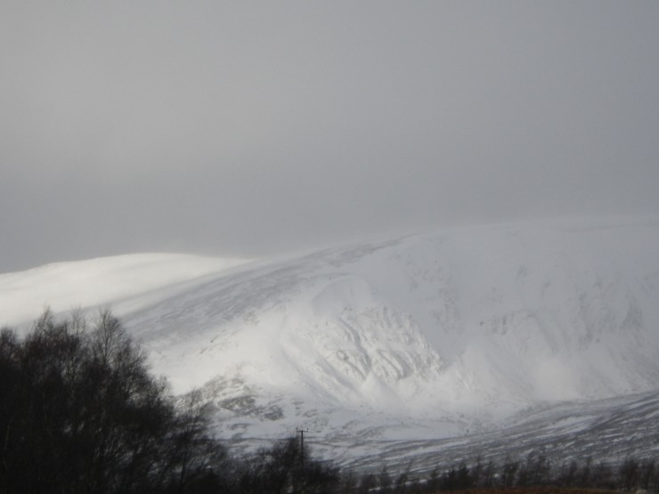 Coire nan Gall from the A86