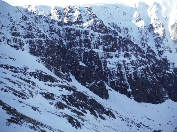 Coire Ardair, Pinnacle Buttress.