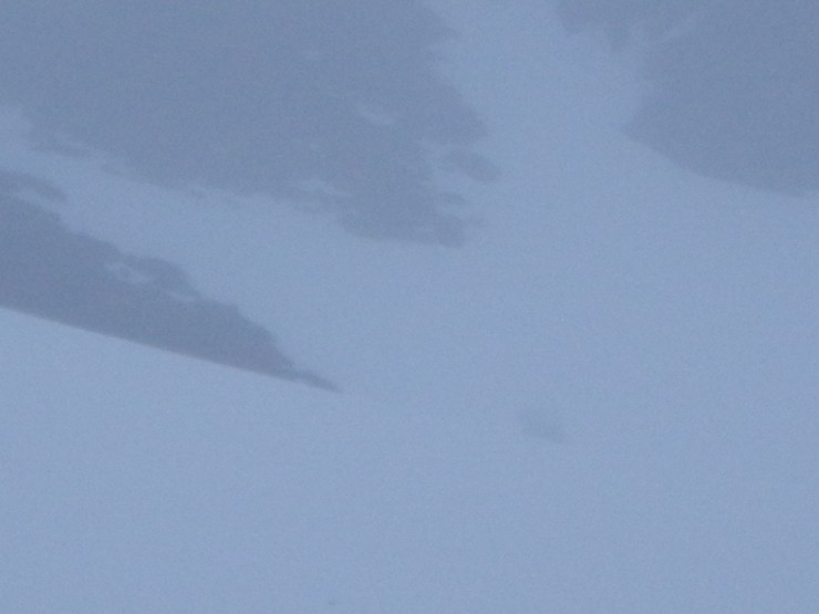 ... a few fresh lumps cornice debris below crag aprons -should stabilise out a bit  with return of cooler conditions.