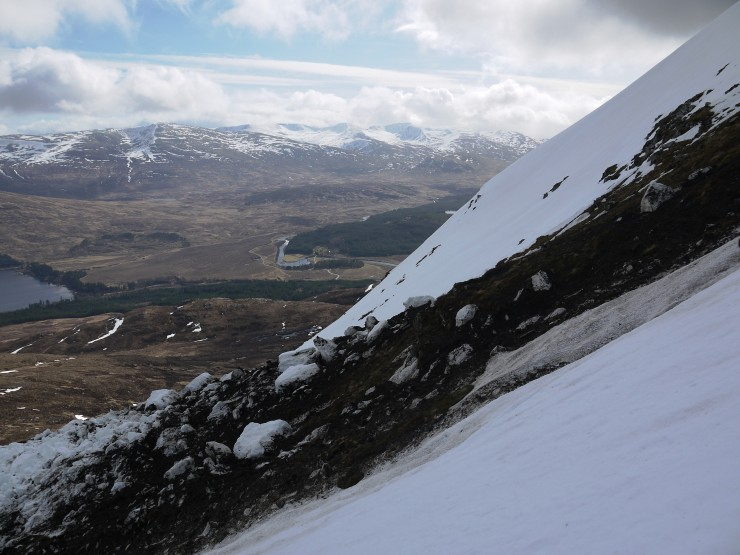 Steep! Plenty of rocks, earth and heather entrained.