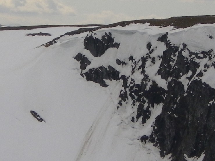 Top of Easy Gully