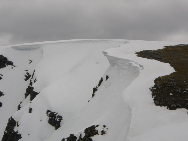 Above the Inner Coire Ardair - towards 'The Windw'
