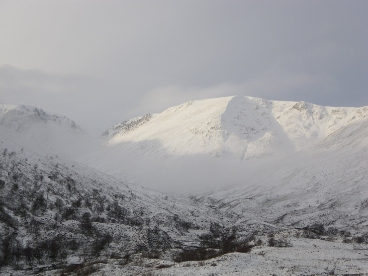 Coire a Chriochairein and the 'Window'