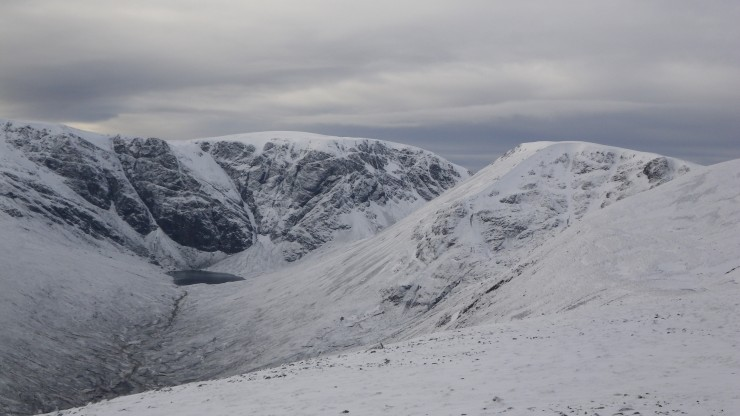 Creag Meagaidh, [Post Face - a new 'suit' of white