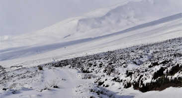 Coire Dubh, part of the Carn Liath massif.