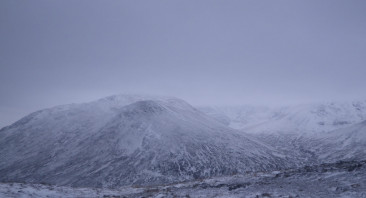 Wintry on the tops